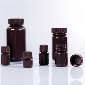 chai nhựa nâu HDPE